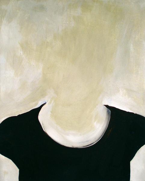 T-Shirtportrait, Öl auf Leinwand, 50 x 40 cm, 2003